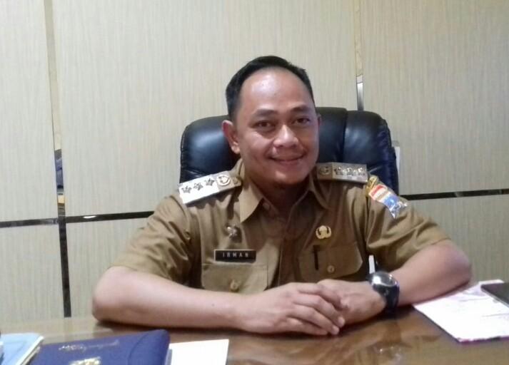Camat Samatang Borang M Irman SSTP