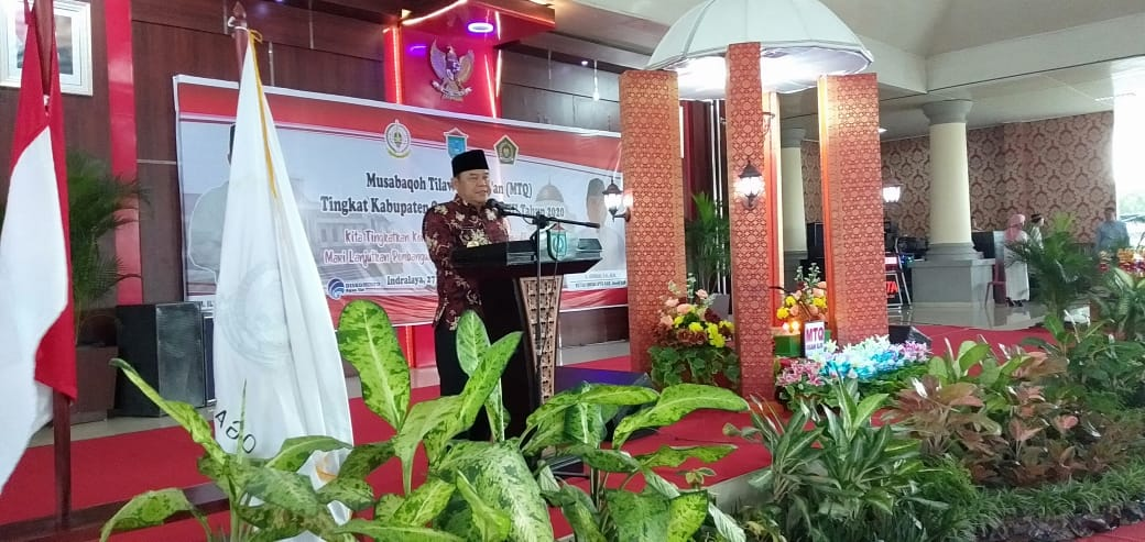 Musabaqah Tilawatil Quran (MTQ) ke 28 resmi ditutup Bupati OI HM Ilyas Panji Alam, acara penutupan ini dilangsungkan di Gedung Serbaguna Komplek Perkantoran Terpadu Pemkab OI Tanjung Senai Indralaya, Jumat (31/1/2020).