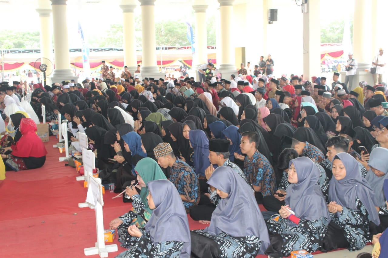 Para peserta Musabaqoh Tilawatil Quran ke 28 di Kabuaten Ogan Ilir