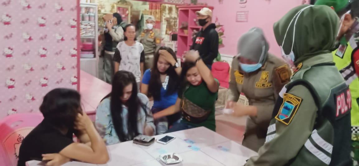 Puluhan Pengunjung  Cafe Remang Remang Terjaring, Ini Kata Kasat Pol PP Lahat!!