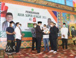 Anton Nurdin Buka Kejuaraan Futsal Aulia Super League ke-8
