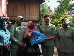 Peduli Penenun Lokal, Pangdam XIV Berikan Paket Bantuan