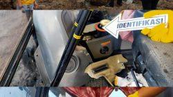 Polres Lahat langsung meninjau dan melakukan identifikasi di KPL area tambang PT MAS, lokasi raibnya 2 unit komputer alat berat yang digondol maling.