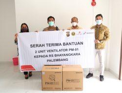 Pertamina EP Tambah 2 Ventilator untuk RS Bhayangkara