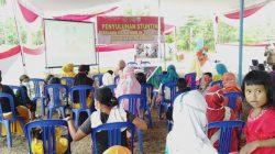 Satgas TMMD Berikan Penyuluhan Stunting kepada Warga Sungai Jawi