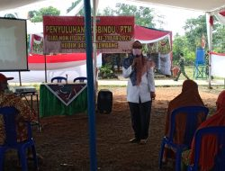 Warga Sungai Jawi Ikuti Penyuluhan PTM