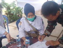Satgas TMMD Terima Bantuan Obat Obatan dari Dinkes Kota Palembang