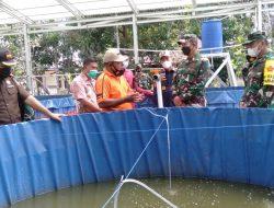 Tim Wasev Mabes TNI Juga Kunjungi Tambak Ikan dan Kebun Warga
