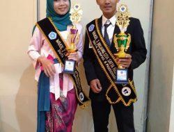Raih Wakil 1 Juara Pemilihan Bujang Gadis Kampus STIA Satya Negara, Athalia: Alhamdulillah