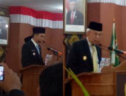 Pidato Perdana Bupati OI Panca, Wagub Sumsel Berpesan
