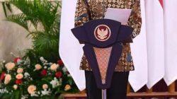 Presiden Joko Widodo membuka Rapat Kerja Nasional (Rakernas) Penguatan Ekosistem Inovasi Teknologi BPPT Tahun 2021 di Istana Negara, Jakarta, Senin, 8 Maret 2021.