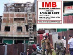 IMB 2,5 Lantai, Setelah Dijual Akan Dibangun 4 Lantai, Arief Tidak Terima