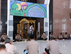 Polda Sumsel Peringati Isra Mi'raj Nabi Muhammad SAW 1442 Hijriah/2021 Masehi