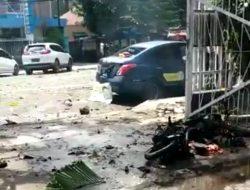 Bom Bunuh Diri di Pintu Samping Gereja Katedral Makasar