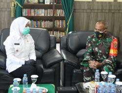 Dandim Paparkan Pelaksanaan TMMD ke Wawako Palembang