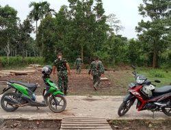 Kegiatan TMMD ke 110 Berakhir, Personel Kodim Palembang Beres Beres Peralatan