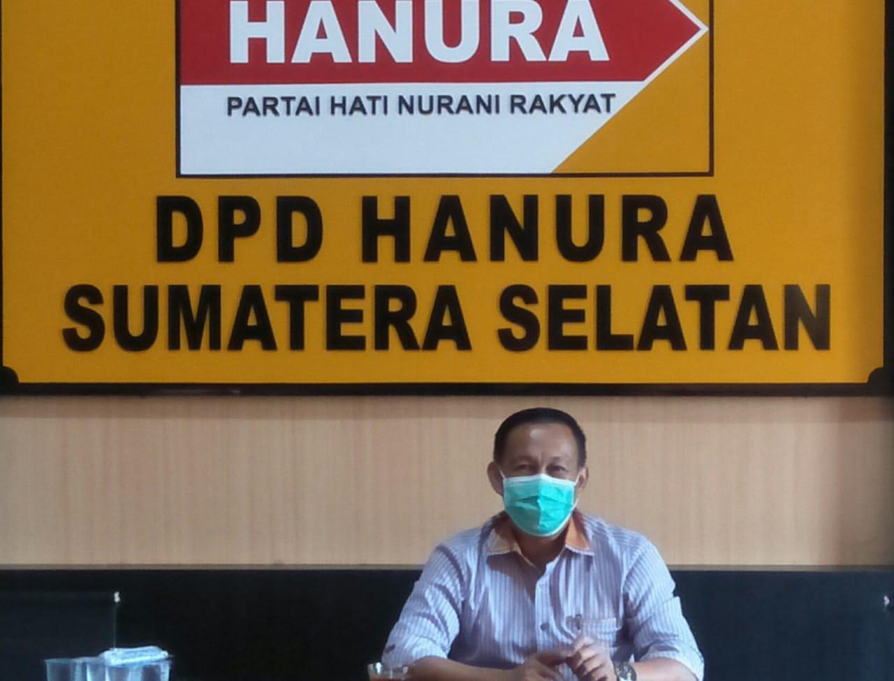 Sekretaris DPD Partai Hanura Sumsel Aslam Mahrom