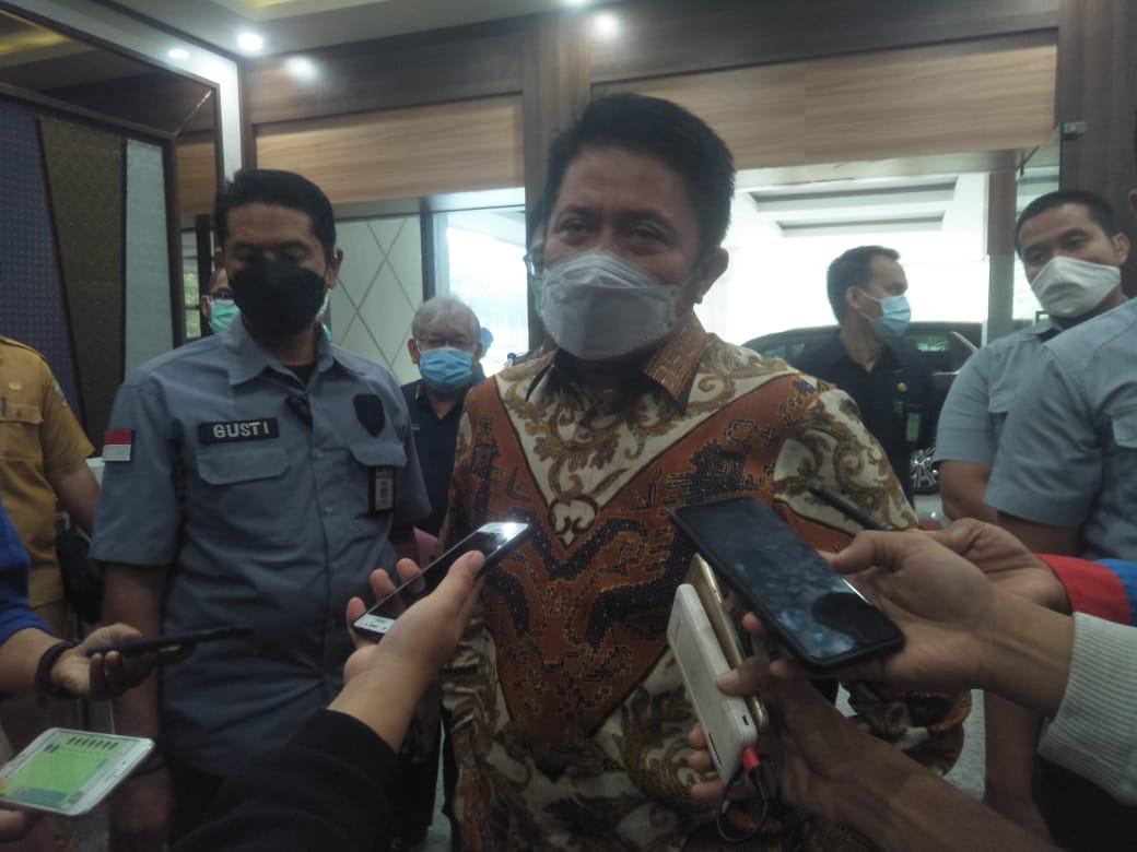 Gubernur Sumsel H Herman Deru (photo Abror Vandozer)