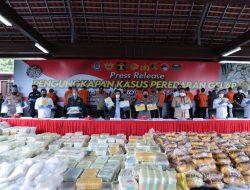 Polri Ungkap Peredaran 2,5 Ton Sabu Jaringan Internasional Timur Tengah-Malaysia-Indonesia