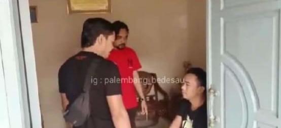 Driver Taxol Hilang Akhirnya Ditemukan Tim Punisher Jatanras Polda Sumsel di Kediaman Simpanannya (Photo Istimewa, Sumber: IG Palembang_Bedesau)