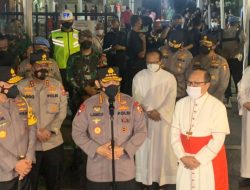 Kapolri Pastikan Seluruh Rangkaian Misa Berjalan Aman