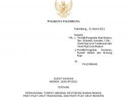 Surat Edaran Walikota Palembang Jelang Ramadhan: Tidak Patuh Kena Sanksi