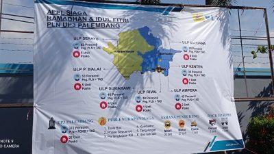 Peta Siaga PLN UIWS2JB selama Ramadhan dan Lebaran
