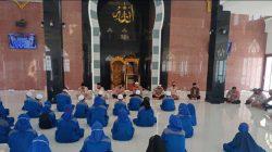 Sambut Ramadhan 1442 H: Personel Polda Sumsel Gelar Doa Bersama