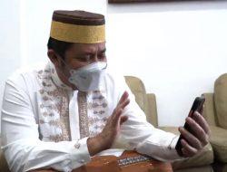 Virtual Call Perawat Siloam, Gubernur Herman Deru: Kamu yang Tabah ya