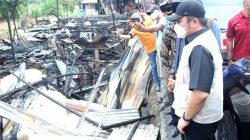Gubernur Sumsel Herman Deru Tinjau Lokasi Kebakaran di Desa Terusan Laut, Kecamatan SP Padang, OKI