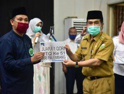 Herman Deru Berharap Wakil Sumsel Tampil Maksimal di PTQ Nasional