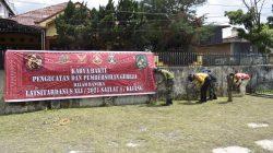 Para taruna Latihan Integrasi Taruna Wreda Nusantara (Latsitardanus) ke-41 melaksanakan kegiatan renovasi gereja, masjid dan rumah tak layak di Kota Medan, Sumatera Utara.