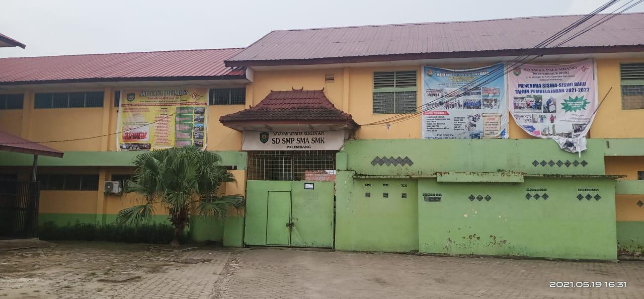 Sekolah YWKA (SD, SMP, SMA dan SMK) berlokasi di Jalan Ki Merogan Kelurahan Ogan Baru Kecamatan Kertapati Palembang