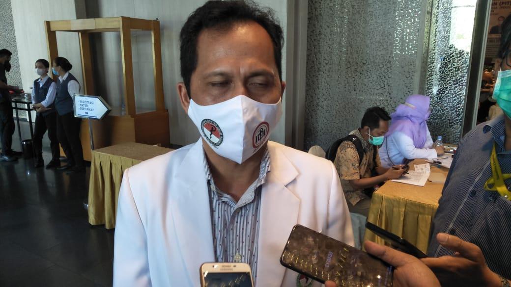 Ketua Persatuan Dokter Umum Indonesia (PDUI) Sumsel dr Masagus M Hakim