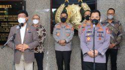 Kapolri Jenderal Listyo Sigit Prabowo memberikan dukungan terkait dengan pembangunan infrastruktur Teknologi Informasi Komunikasi (TIK), dalam rangka mewujudkan cita-cita program pemerintah untuk penguatan ruang digital di seluruh Indonesia.