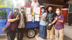 Politeknik Negeri Sriwijaya (Polri) bersama PT Bukit Asam Tbk dan Ikatan Wartawan Online Sumatera Selatan (IWO Sumsel) menyelenggarakan bakti sosial (Baksos) kepedulian terhadap Panti Asuhan secara Virtual di Gedung Pendidikan Polsri Palembang, Jumat (7/5/21).