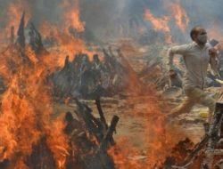 Rekor Terbaru: India Diterjang 4 Ribu Kematian Perhari Akibat COVID-19
