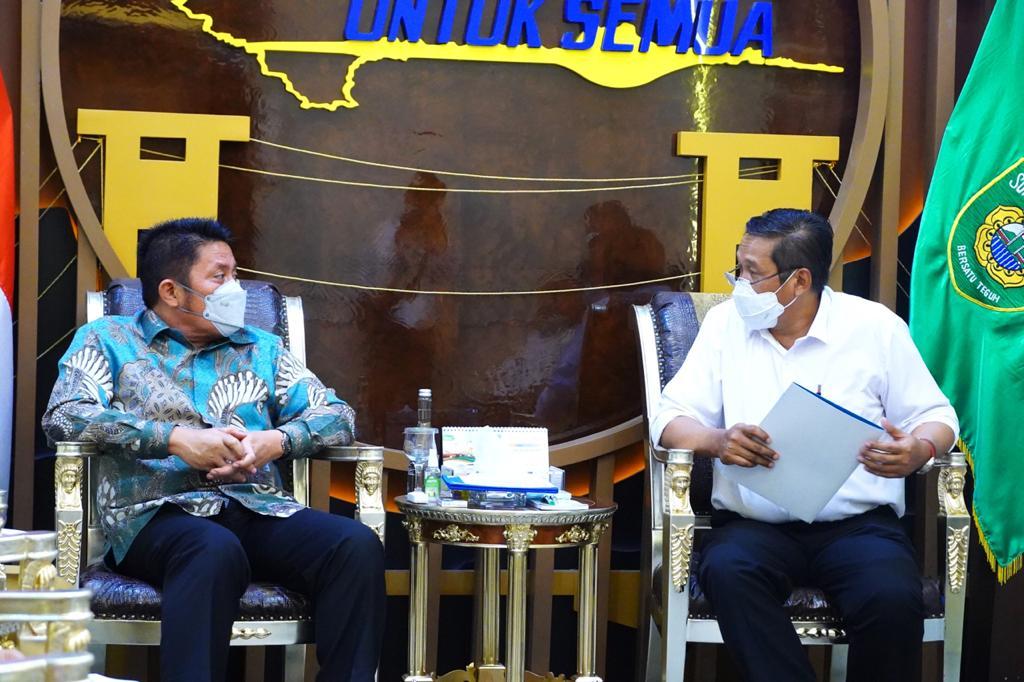 Gubernur Sumatera Selatan (Sumsel) H Herman Deru mengucapkan terima kasih atas kerjasama dan sinergi yang baik antara Pemprov Sumsel dengan PT PLN (Persero) yang tetap komitmen untuk terus memenuhi kebutuhan energi listrik bagi masyarakat di Sumsel.