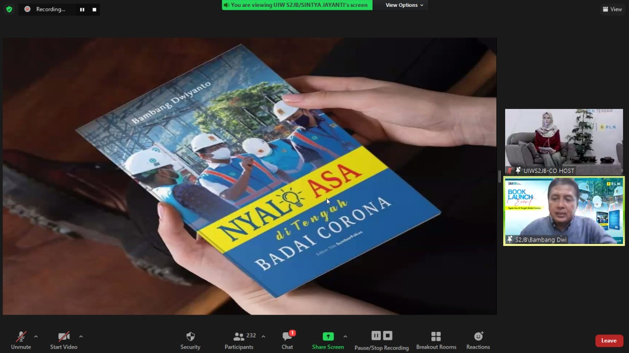 Peluncuran Buku Nyala Asa di Tengah Badai Corona