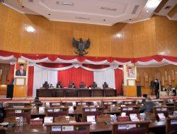 Fraksi Fraksi di DPRD Sumsel Sampaikan Pendapat Akhir Terhadap Sembilan Raperda Provinsi Sumsel