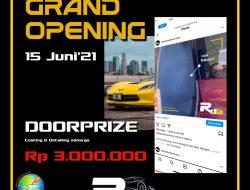 Grand Opening, RDG Denish Auto Service Siapkan Doorprize Jutaan Rupiah