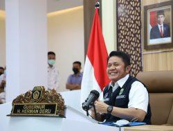 Webinar Bersama Menteri Sandiaga Uno, Herman Deru Promosi Sriwijaya Grand Fondo dan Sriwijaya Dempo Run