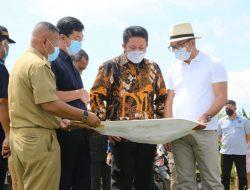 Herman Deru dan Kang Emil Tinjau Lokasi Islamic Center, Pasar Cinde dan Bantaran Sungai Musi