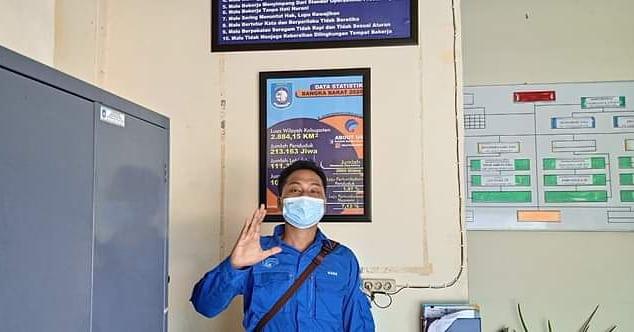 Raiza Rana Viola Riady SH, Pegawai Bidang IKP Diskominfo Kota Pangkalpinang