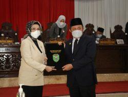 Penandatanganan  Keputusan Bersama Antara Gubernur dengan Ketua DPRD Sumsel
