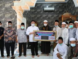 Herman Deru Bantu  Perkembangan Masjid AlMuhajirin Komplek BSI