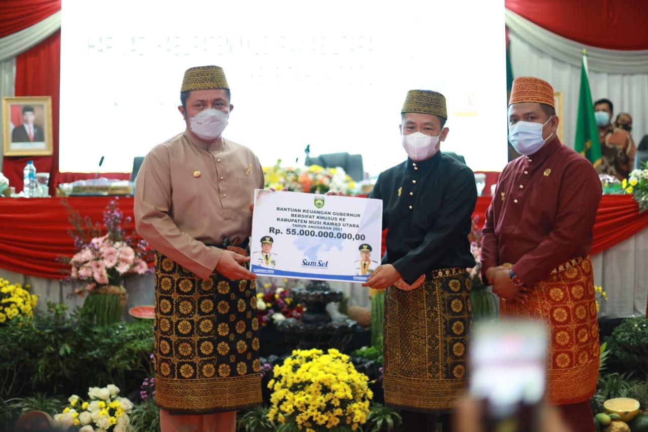 Herman Deru Hadiahi Muaratara Pasar Induk dan Bangub Rp55 Miliar