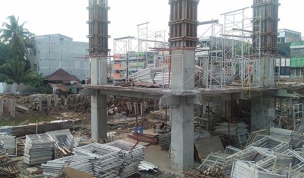 Pembangunan Aldiron Plaza Cinde (APC)