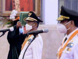 Presiden Joko Widodo, Lantik Gubernur dan Wakil Gubernur Sulteng