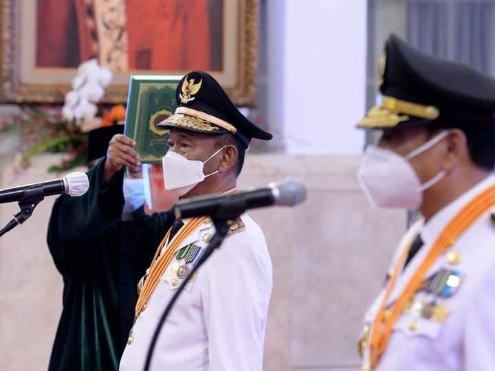 Gubernur dan Wakil Gubernur Sulawesi Tengah, Rusdy Mastura dan Ma'mun Amir